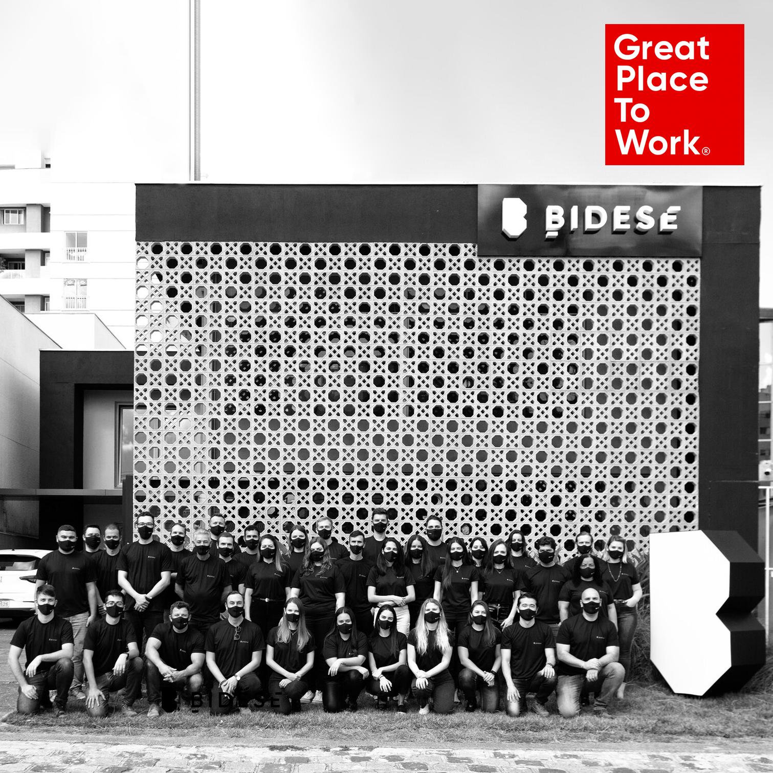 Bidese Construtora conquista selo GPTW